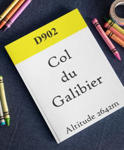 Col du Galibier notebook