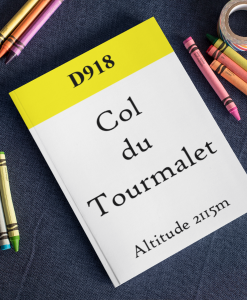 Col du Tourmalet notebook