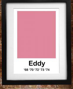 eddy merckx pink print