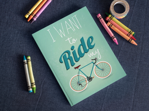 I Want To Ride My Bicycle notebook