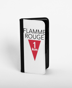 Flamme Rouge wallet phone case