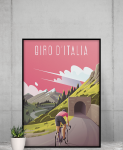 giro d'italia print